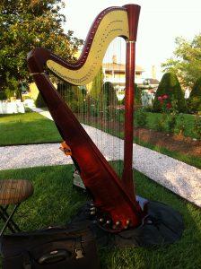 harp at Antrim 1844