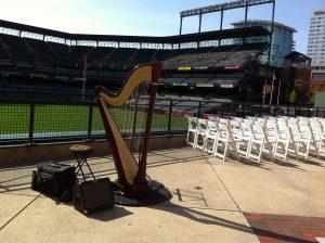 harp at Camden Yards