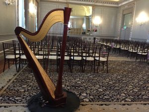 harp at The Belvedere