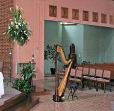 maryland wedding music performance harp